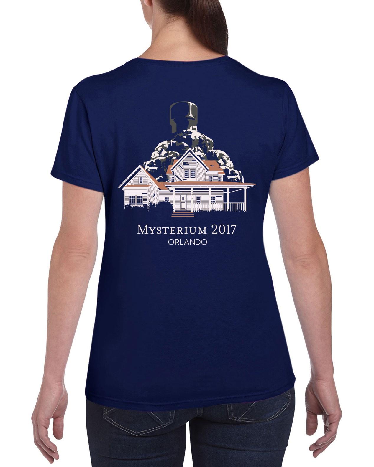 Shirt design images 2017 - Mysterium 2017 Back Logo